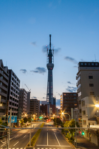 東京スカイツリー(建設中)の写真素材 [FYI01266264]
