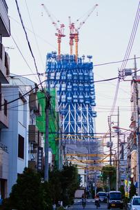 東京スカイツリー(建設中)の写真素材 [FYI01266266]