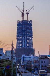 東京スカイツリー(建設中)の写真素材 [FYI01266268]