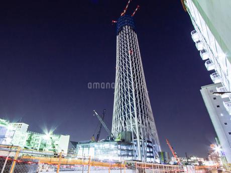 東京スカイツリー(建設中)の写真素材 [FYI01266270]