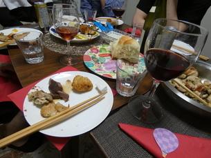 ワイン・惣菜の写真素材 [FYI01266432]