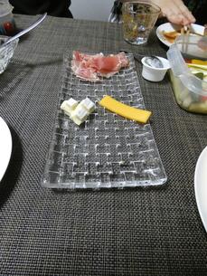 生ハムとチーズの写真素材 [FYI01266433]