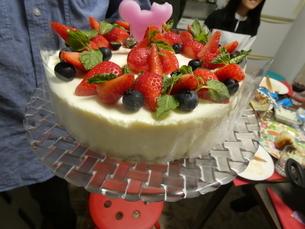 イチゴケーキ大の写真素材 [FYI01266439]