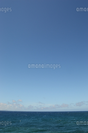 快晴の青空と青い海の写真素材 [FYI01266484]