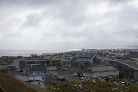 厚岸の町並みの写真素材 [FYI01266502]