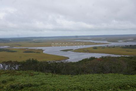 霧多布湿原の風景の写真素材 [FYI01266524]