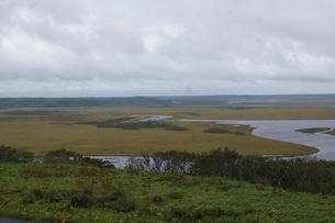 霧多布湿原の風景の写真素材 [FYI01266525]