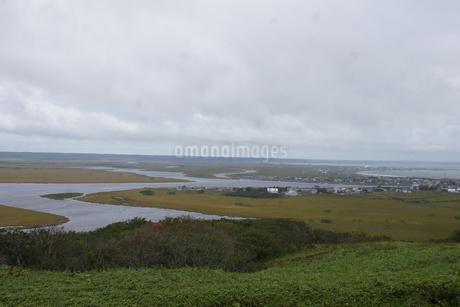 霧多布湿原の風景の写真素材 [FYI01266526]