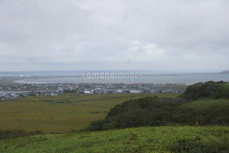 霧多布湿原の風景の写真素材 [FYI01266528]