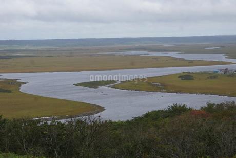 霧多布湿原の風景の写真素材 [FYI01266529]