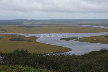 霧多布湿原の風景の写真素材 [FYI01266531]