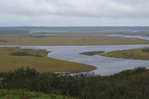霧多布湿原の風景の写真素材 [FYI01266532]