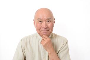 笑顔のシニア男性の写真素材 [FYI01266619]