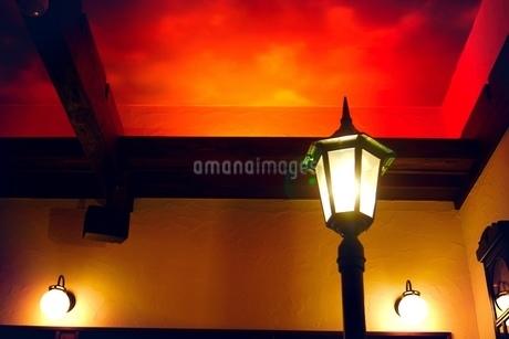 街灯イメージの写真素材 [FYI01266800]
