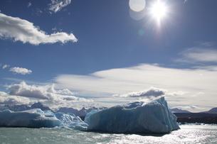 パタゴニアの氷河の写真素材 [FYI01266807]