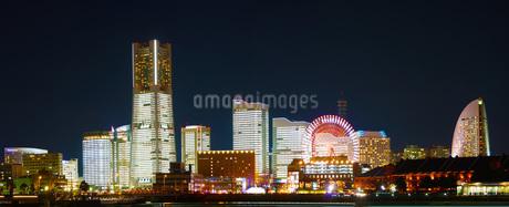 横浜夜景の写真素材 [FYI01266824]