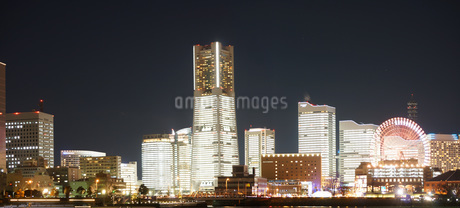 横浜夜景の写真素材 [FYI01266847]