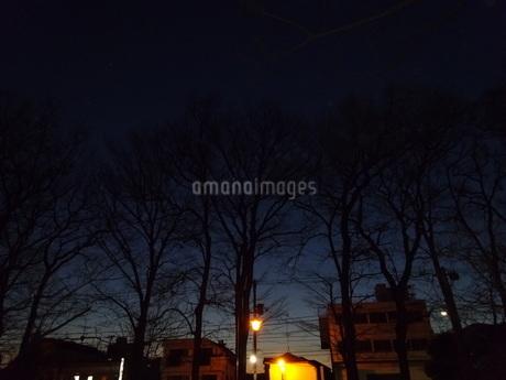 夜の始まりの写真素材 [FYI01266888]