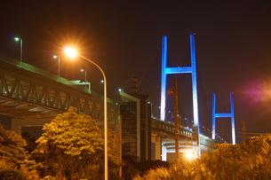 横浜ベイブリッジの写真素材 [FYI01266890]