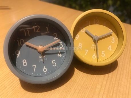 パステルミニ時計の写真素材 [FYI01266975]