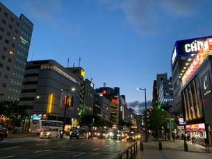 福岡 都心の写真素材 [FYI01267145]