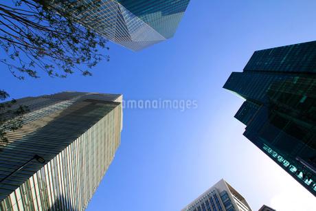 港区高層ビル群の写真素材 [FYI01267390]