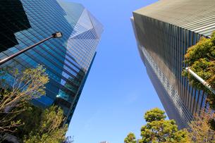 港区高層ビル群の写真素材 [FYI01267394]