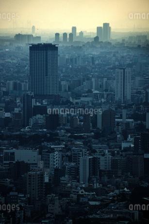 東京都庁の展望台からの景色の写真素材 [FYI01267458]