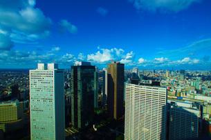 新宿のビル群の写真素材 [FYI01267480]