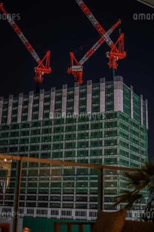 建設中のビルの写真素材 [FYI01267528]