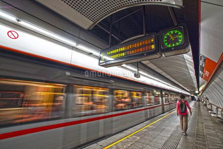 オーストリア・ウィーンの鉄道の写真素材 [FYI01267548]