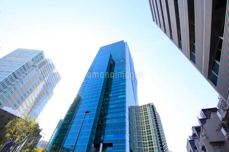 港区高層ビル群の写真素材 [FYI01267723]