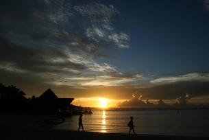 ドミニカの夜明けの写真素材 [FYI01267775]