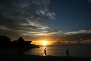 ドミニカの夜明けの写真素材 [FYI01267776]