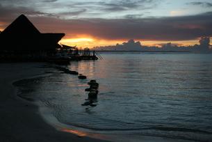 ドミニカの夜明けの写真素材 [FYI01267778]