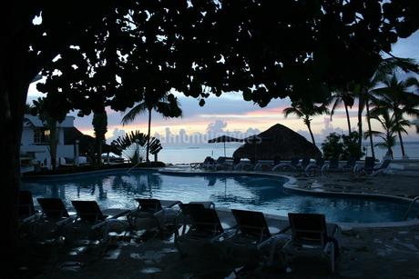 ドミニカの夜明けの写真素材 [FYI01267781]