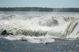 イグアスの滝の写真素材 [FYI01267985]