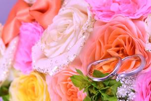 結婚指輪の写真素材 [FYI01268047]