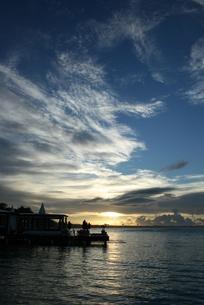 ドミニカの夜明けの写真素材 [FYI01268278]