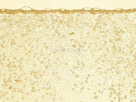 シャンパンの泡の写真素材 [FYI01268606]