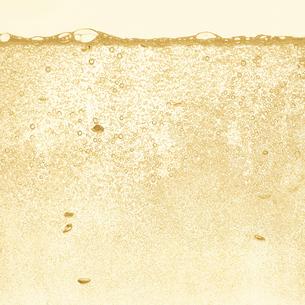 シャンパンの泡の写真素材 [FYI01268617]