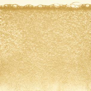 シャンパンの泡の写真素材 [FYI01268619]