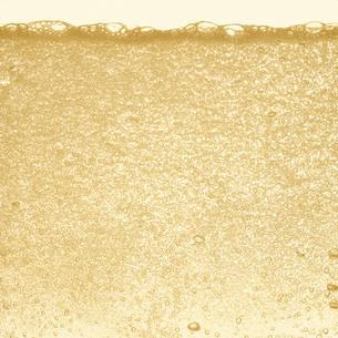 シャンパンの泡の写真素材 [FYI01268625]