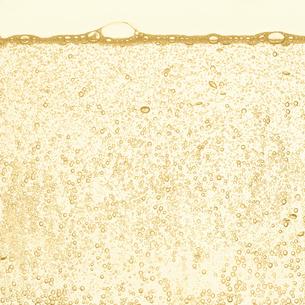 シャンパンの泡の写真素材 [FYI01268636]