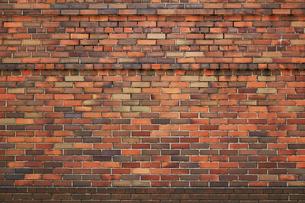 古いレンガの壁の背景素材写真の写真素材 [FYI01269139]