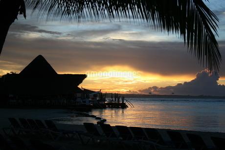 ドミニカの夜明けの写真素材 [FYI01269199]