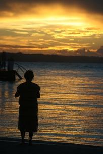 ドミニカの夜明けの写真素材 [FYI01269227]