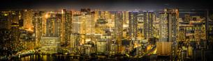 カレッタ汐留からの東京の夜景の写真素材 [FYI01269268]