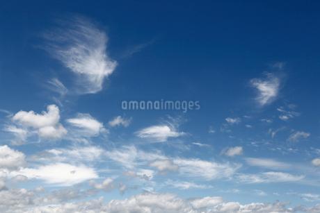 空と雲の写真素材 [FYI01269360]
