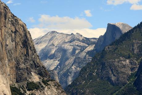 Yosemite National Park, Tunnel Viewの写真素材 [FYI01269589]